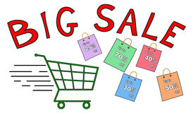 Big sale concept Royalty Free Stock Photography