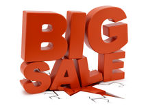 Big Sale crushing ground Royalty Free Stock Photography
