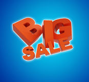 Big sale. 3d illustration Stock Photo