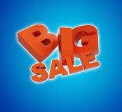 Big sale. 3d illustration. On a white background Stock Photo