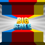 The Big Sale Royalty Free Stock Photos