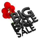 Big sale. Royalty Free Stock Photo