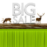 Big sale. Royalty Free Stock Photos