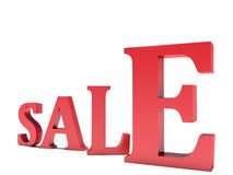 Big sale,  3d rendering Stock Images