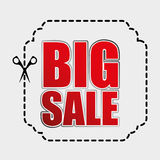 Big sale design Royalty Free Stock Image