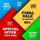 Big sale design Stock Image