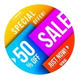 Big sale design Stock Photography