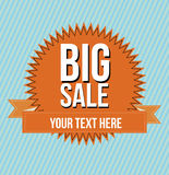 Big sale design Royalty Free Stock Images