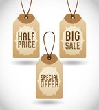 Big sale design Royalty Free Stock Photo