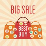 Big sale design Stock Image