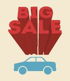 Big sale design Royalty Free Stock Photography