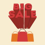 Big sale design Stock Photo