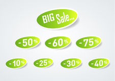 Big Sale Discount Symbol Stock Photography