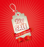 Big sale discounts and offers shopping Royalty Free Stock Image