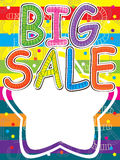 Big Sale Draw Royalty Free Stock Images