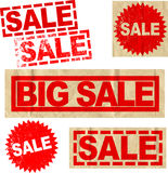 Big Sale Elements  Stock Images