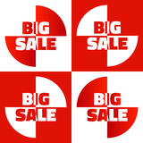 Big sale  elements Stock Image