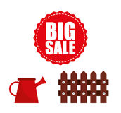 Big sale of farm tools Stock Photography