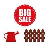 Big sale of farm tools Stock Photography