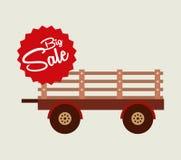 Big sale of farm tools Royalty Free Stock Photos