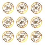 Big sale 01gold Stock Image