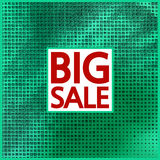Big sale halftone concept background. Stock Photo