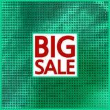 Big sale halftone concept background. Stock Photo