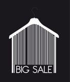 Big sale hanger Stock Photo
