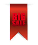 Big sale hanging banner business sign Stock Photos