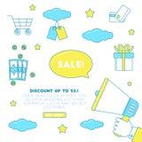 Big sale illustration stock illustration