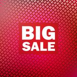 Big sale isolated over white background. Stock Images