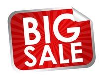 Big sale label Stock Photos