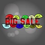 Big Sale Label Stock Photo