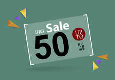 Big Sale, This label special offer Stock Photos