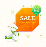 Big Sale Label. Vector Royalty Free Stock Images