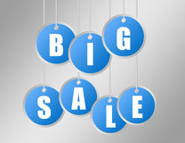 Big sale labels Stock Photo
