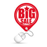 Big sale online round tag price Royalty Free Stock Photography