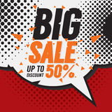 Big Sale 50 Percent. Stock Image