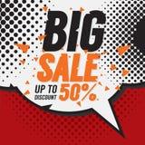 Big Sale 50 Percent. Stock Image