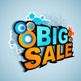 Big Sale Poster Royalty Free Stock Image