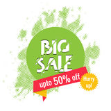 Big Sale Poster, Banner or Flyer design. Royalty Free Stock Photo