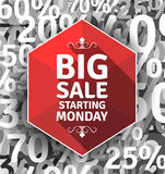 Big Sale poster Stock Images