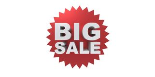 Big sale promo department store Stock Image