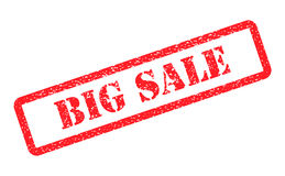 Big sale red stamp on background.  Stock Photography