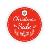 Big sale red sticker. Big Sale Banner Vector Illustration Royalty Free Stock Photos