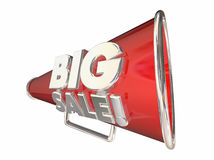Big Sale Save Money Megaphone Bullhorn Stock Photo