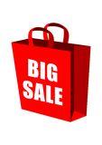 Big Sale Shopping Bag Stock Photos