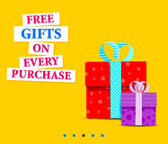 Big Sale Shopping Promotion Poster Royalty Free Stock Photography