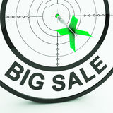 Big Sale Shows Promotions Offers In Retail Royalty Free Stock Photo