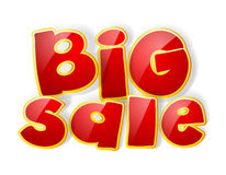 Big sale sign Stock Image